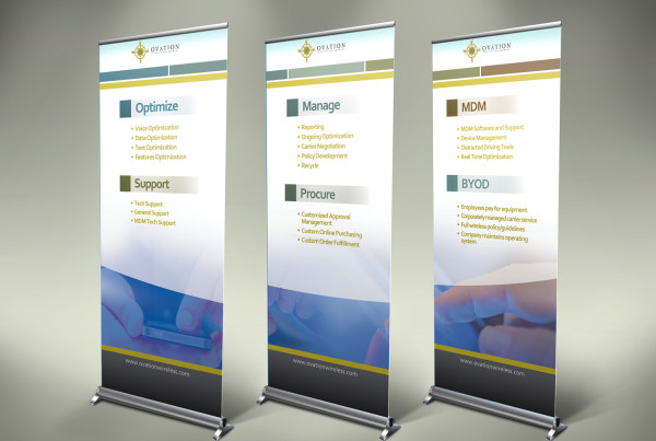 Software Company Trade Show Banners