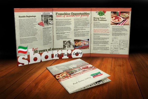 Corporate Franchise 6 Page Brochure
