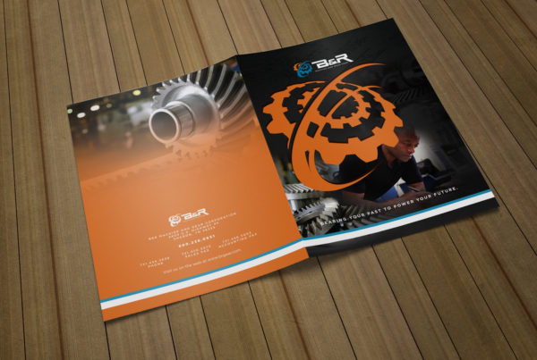 Industrial brochure design