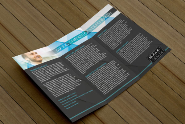 Men's Health Trifold Brochure