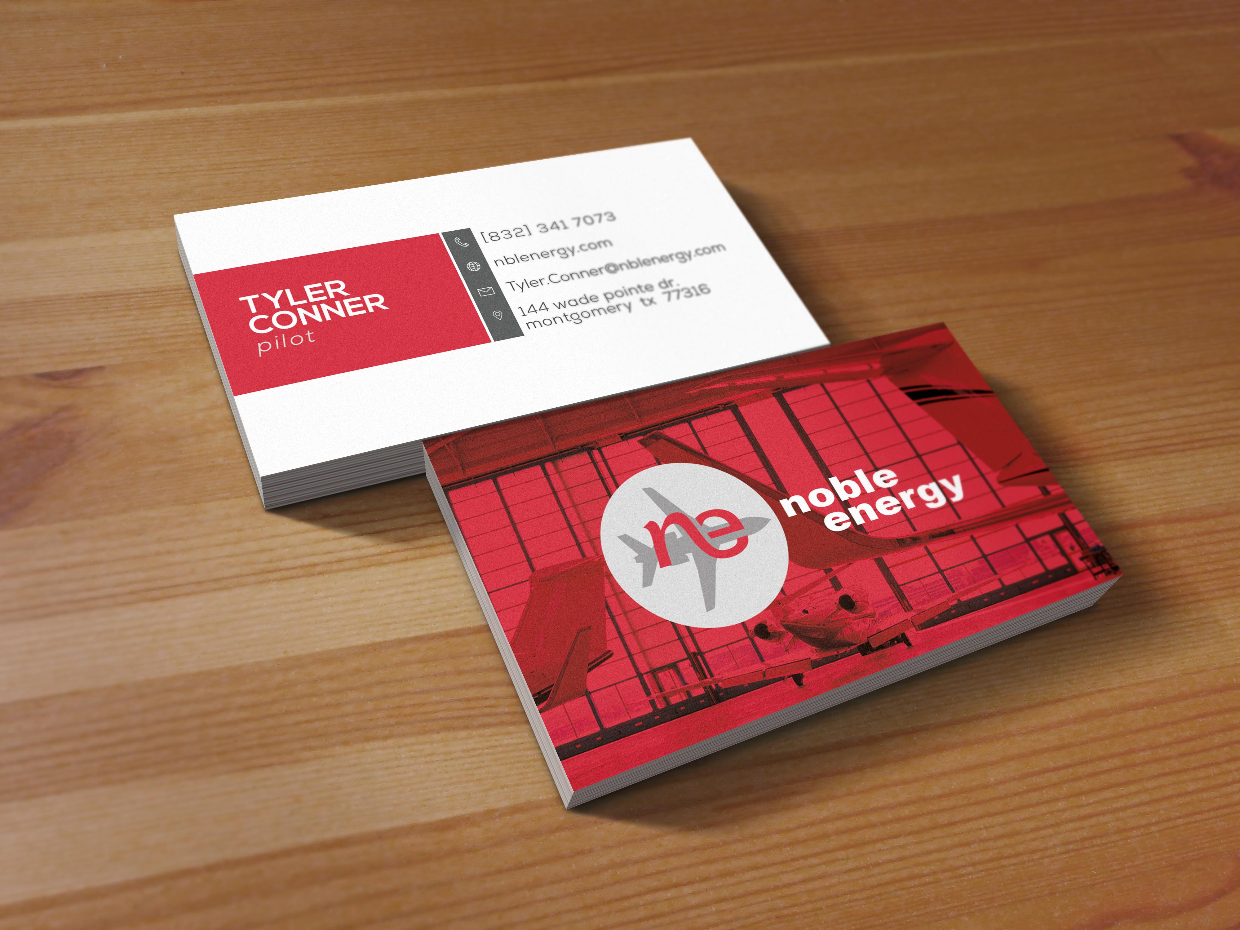 Industrial Business Card Design