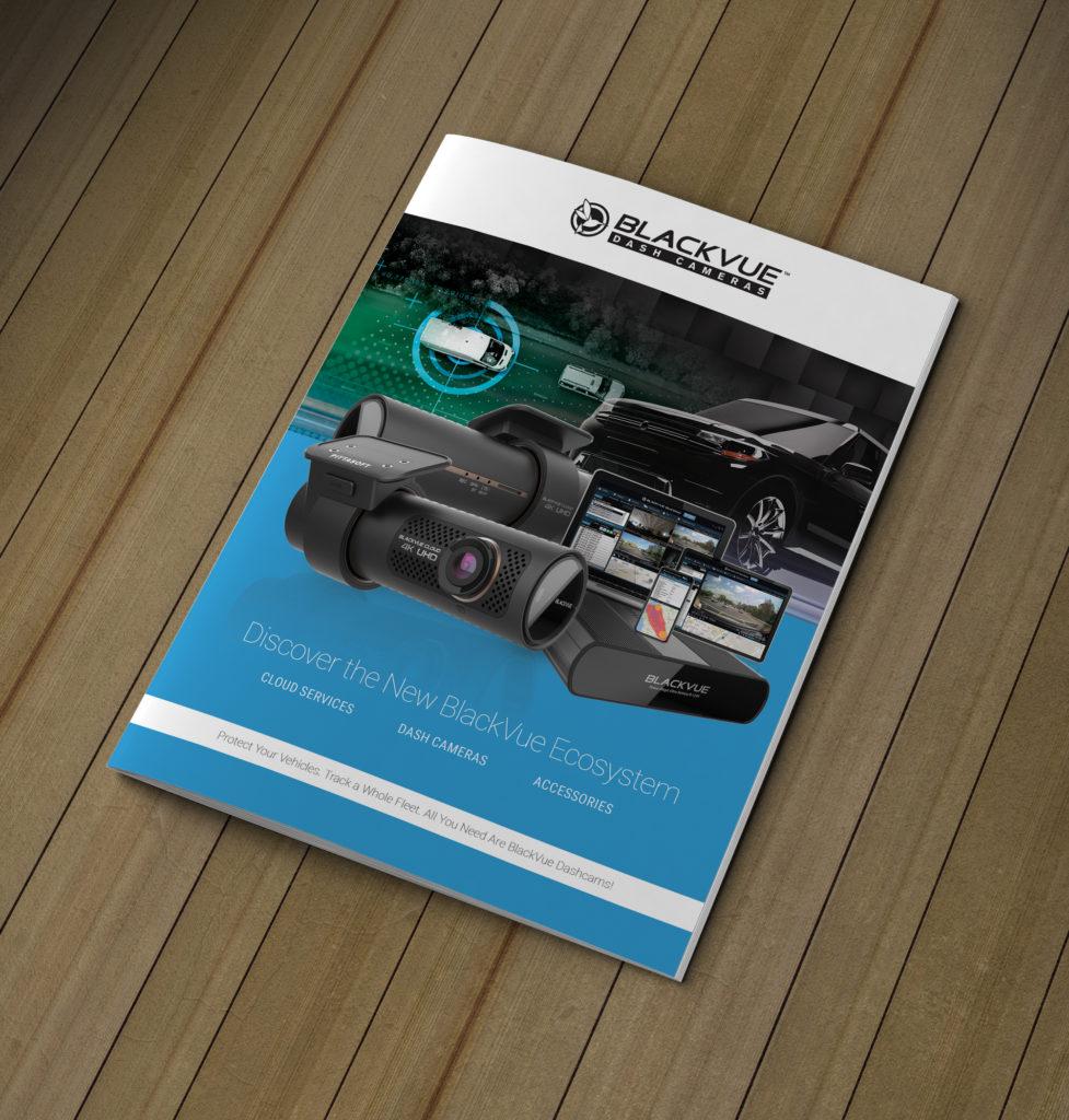 Technology Camera Brochure Design